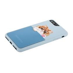 "Накладка JANESPER вышивка для iPhone 8 Plus/ 7 Plus/ 6 Plus (5.5"") JS-IP8PBella-BU Голубой"