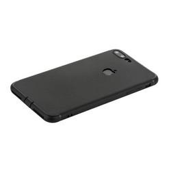 """Чехол силиконовый для iPhone 8 Plus/ 7 Plus (5.5"""") уплотненный в техпаке (черный)"""