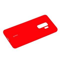 Чехол-накладка силиконовый Cherry матовый 0.4mm & пленка для Samsung Galaxy S9 Plus Красный