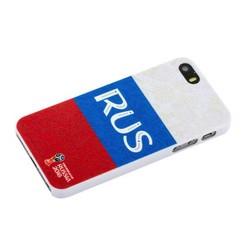 """Чехол-накладка PC Deppa D-103845 ЧМ по футболу FIFA™ Flag Russia для iPhone SE/ 5S/ 5 (4.0"""")"""