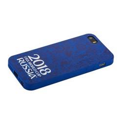 "Чехол-накладка TPU Deppa D-103855 ЧМ по футболу FIFA™ Official Logotype для iPhone SE/ 5S/ 5 (4.0"") Синий"
