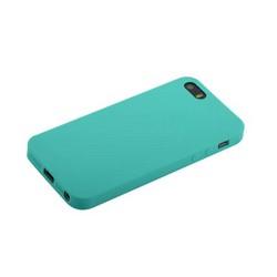 """Чехол-накладка силикон Anycase TPU A-140022 для iPhone SE/ 5S/ 5 (4.0"""") 1.0 мм матовый Мятный"""