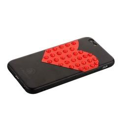 "Накладка PC+TPU BLING BALLY Luxury Diamond Case для iPhone 6s/ 6 (4.7"") Большое сердце"