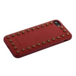 """Накладка кожаная Santa Barbara Polo&Racquet Club Debonair Series для iPhone 8/ 7 (4.7"""") Красная"""