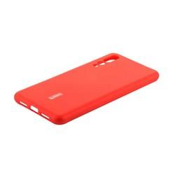 """Чехол-накладка силиконовый Cherry матовый 0.4mm & пленка для HUAWEI P20 Pro/ P20 Plus (6.1"""") Красный"""
