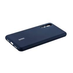 """Чехол-накладка силиконовый Cherry матовый 0.4mm & пленка для HUAWEI P20 Pro/ P20 Plus (6.1"""") Синий"""