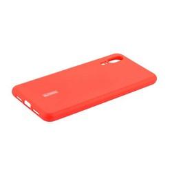 """Чехол-накладка силиконовый Cherry матовый 0.4mm & пленка для HUAWEI P20 (5.8"""") Красный"""