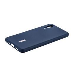 """Чехол-накладка силиконовый Cherry матовый 0.4mm & пленка для HUAWEI P20 (5.8"""") Синий"""
