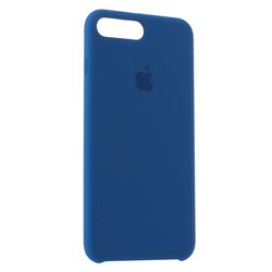Чехол-накладка силиконовый Silicone Case для iPhone 8 Plus/ 7 Plus (5.5) Blue Cobalt Темный кобальт №29