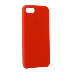 Чехол-накладка силиконовый Silicone Case для iPhone 8/ 7 (4.7) Red Raspberry Красная малина №38