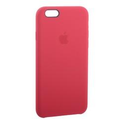 Чехол-накладка силиконовый Silicone Case для iPhone 6s/ 6 (4.7) Red Raspberry Красная малина №38