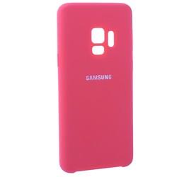 Чехол-накладка силиконовый Silicone Case для Samsung S9 коралловый