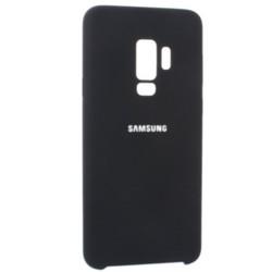 Чехол-накладка силиконовый Silicone Case для Samsung S9 Plus черный