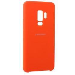Чехол-накладка силиконовый Silicone Case для Samsung S9 Plus коралловый