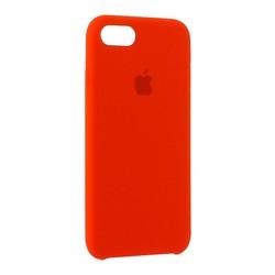 """Чехол-накладка силиконовый Silicone Case для iPhone 8/ 7 (4.7"""") Product red Красный №14"""
