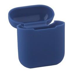 Чехол силиконовый Deppa для AirPods 2/ AirPods D-47004 1.4мм Синий