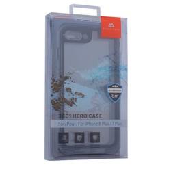"Чехол водонепроницаемый Black Rock 360° Hero Case для iPhone 8 Plus/ 7 Plus (5.5"") подводный бокс (800055) 1040TST03 Серый"