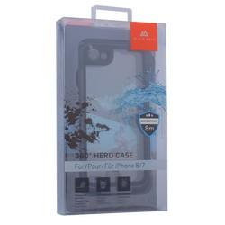 """Чехол водонепроницаемый Black Rock 360° Hero Case для iPhone 8/ 7 (4.7"""") подводный бокс (800029) 1025TST02 Черный"""