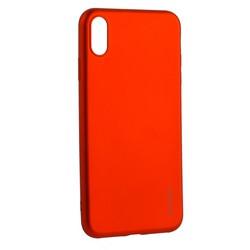 "Чехол-накладка Deppa Case Silk TPU Soft touch D-89038 для iPhone XS Max (6.5"") 1мм Красный металик"