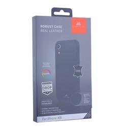 "Чехол-накладка Black Rock Robust Case Real Leather для iPhone XR (6.1"") противоударный (800083) 1070RRL02 Черный"