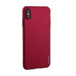"Чехол-накладка пластик Soft touch Deppa Air Case D-83365 для iPhone XS Max (6.5"") 1мм Красный"