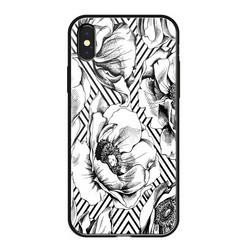 "Чехол-накладка закаленное стекло Deppa Glass Case D-86500 для iPhone XS Max (6.5"") 2.0мм Белый"