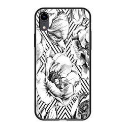 "Чехол-накладка закаленное стекло Deppa Glass Case D-86508 для iPhone XR (6.1"") 2.0мм Белый"