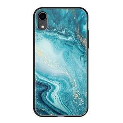 """Чехол-накладка закаленное стекло Deppa Glass Case D-86510 для iPhone XR (6.1"""") 2.0мм Голубой"""