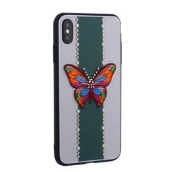 "Накладка силиконовая TOTU Butterfly Love Series -019 для iPhone XS Max (6.5"") Бабочка Green"