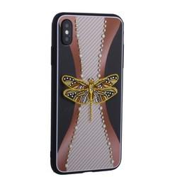 """Накладка силиконовая TOTU Dancing Dragonfly Series -020 для iPhone XS Max (6.5"""") Стрекоза Gold"""