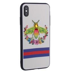 """Накладка силиконовая TOTU Crazy Bee Series -021 для iPhone XS Max (6.5"""") Пчела Red"""