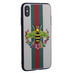 """Накладка силиконовая TOTU Crazy Bee Series -021 для iPhone XS Max (6.5"""") Пчела Green"""