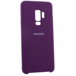 Чехол-накладка силиконовый Silicone Case для Samsung S9 Plus фиолетовый