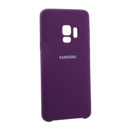 Чехол-накладка силиконовый Silicone Case для Samsung S9 фиолетовый