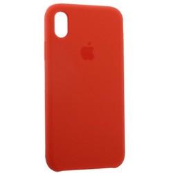 """Чехол-накладка силиконовый Silicone Case для iPhone XR (6.1"""") Orange Оранжевый №13"""