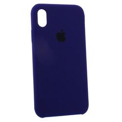 """Чехол-накладка силиконовый Silicone Case для iPhone XR (6.1"""") Ultra-Violet Ультрафиолет №32"""