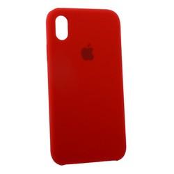 """Чехол-накладка силиконовый Silicone Case для iPhone XR (6.1"""") Product Red Красный №14"""