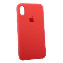 """Чехол-накладка силиконовый Silicone Case для iPhone XR (6.1"""") Коралловый №36"""