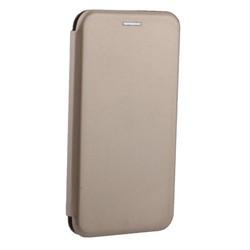"""Чехол-книжка кожаный Fashion Case Slim-Fit для iPhone XR (6.1"""") Gold Золотой"""