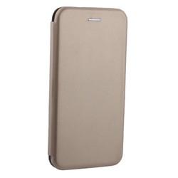 """Чехол-книжка кожаный Fashion Case Slim-Fit для iPhone XS Max (6.5"""") Gold Золотой"""