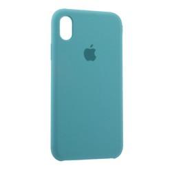 """Чехол-накладка силиконовый Silicone Case для iPhone XR (6.1"""") Sea Blue Голубое море №23"""