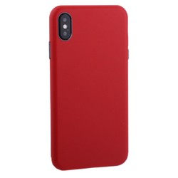 "Чехол-накладка кожаная TOTU Imitation all covered PU Leather Case для iPhone XS Max (6.5"") AAiXSMAX-016 Красный"