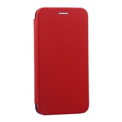 """Чехол-книжка кожаный Innovation Case для iPhone XS/ X (5.8"""") Красный"""