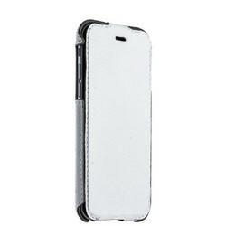 """Чехол кожаный Valenta (C-1211) для iPhone 6S/ 6 (4.7"""") Flip Classic Luxe с откидным верхом белый"""