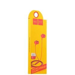 Наушники Hoco M14 Inital Sound Universal Earphones with mic (1.2 м) с микрофоном Red Красные