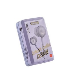 Наушники Remax RM-510 Earphone Grey Серые