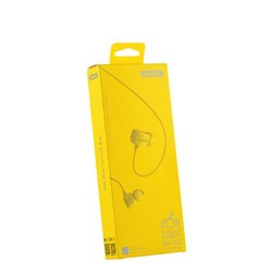 Наушники Remax RM-502 Crazy Robot In-ear Earphone Yellow Желтые