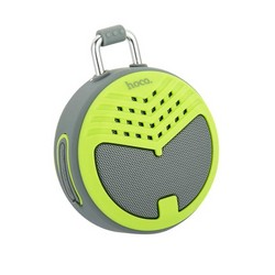 Портативный динамик Hoco BS17 Charming sound wireless speaker Green Зеленый