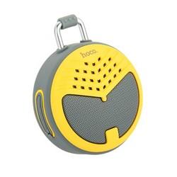 Портативный динамик Hoco BS17 Charming sound wireless speaker Yellow Желтый