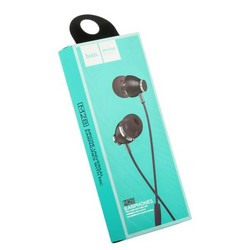 Наушники Hoco M28 Ariose Universal Earphones with mic (1.2 м) с микрофоном Gray Серые